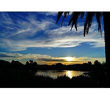 Sunset, Fairways, Craigieburn  Photographic Print