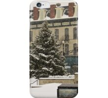 Downtown Sandusky Ohio - Winter iPhone Case/Skin