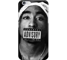 Tupac - Too Real iPhone Case/Skin