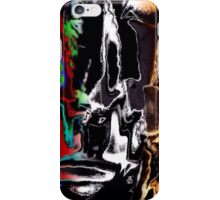 Modern painted abstract iPhone Case/Skin