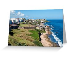 Castillo San Felipe del Morro. Greeting Card