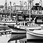 Fishermen's Wharf by Mick Burkey