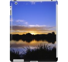 Sunset, Fairways, Craigieburn  iPad Case/Skin
