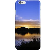Sunset, Fairways, Craigieburn  iPhone Case/Skin