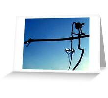 Heart String Greeting Card