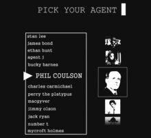 His First Name is Agent Kids Clothes