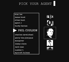 His First Name is Agent Unisex T-Shirt