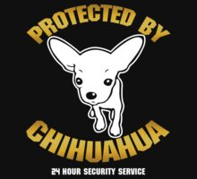 Protected By Chihuahua by darkworld