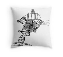 Transporter Throw Pillow