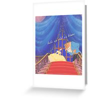 song as old as rhyme. Greeting Card