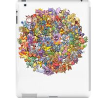 Pokemons iPad Case/Skin