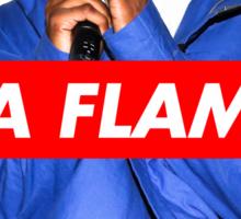 Travi$ Scott 'The Prayer' - La Flame Sticker