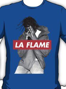 Travi$ Scott 'The Prayer' - BW/La Flame T-Shirt