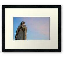Praying Mary Framed Print