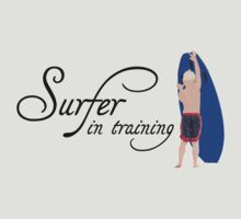 Surfer in training by digerati