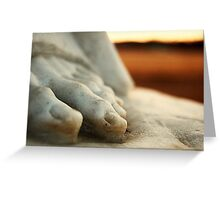 Stone Toes Greeting Card