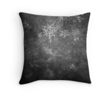 the white snow is not perfect II Throw Pillow