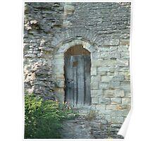 Wenlock Priory, Shropshire, UK Poster