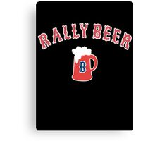 Rally Beer Canvas Print