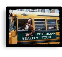 Seinfeld Peterman Reality Bus Tour Shirt Canvas Print