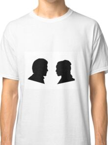 Jaime and Cersei Lannister Silhouette Profiles Classic T-Shirt