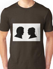 Jaime and Cersei Lannister Silhouette Profiles Unisex T-Shirt
