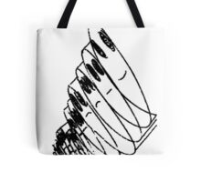 """""""THE MANY MOODS OF MAN""""#2 (white) Tote Bag"""