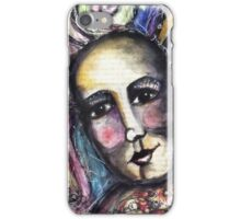 She found joy in her heart. iPhone Case/Skin