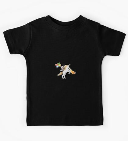 Ninja Cat Unicorn Kids Tee