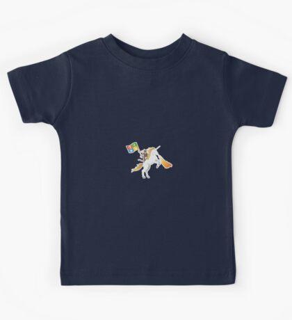 Ninja Cat Unicorn Kids Tee