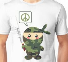 Fight For Peace (green) Unisex T-Shirt