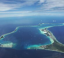 Diego Garcia from the sky by HelmD