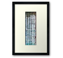 Dreary Night - Inverted Framed Print