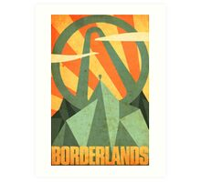 Borderlands Art Print