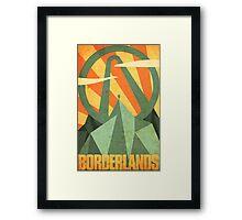 Borderlands Framed Print