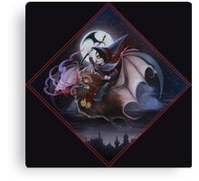Possessed by the Devil's Skew Canvas Print