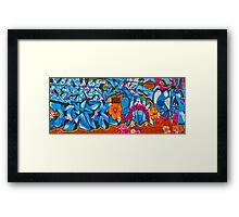 Oxford Street Graffiti Framed Print