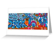 Oxford Street Graffiti Greeting Card