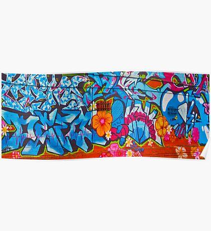 Oxford Street Graffiti Poster