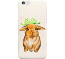 One Chubby Bunny iPhone Case/Skin