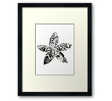 Les Fleurs Framed Print