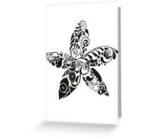 Les Fleurs Greeting Card