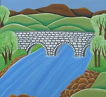 Drowe's Bridge, Ireland by averystudios