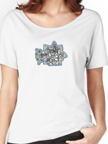 Design 041s1 - by Kit Clock Women's Relaxed Fit T-Shirt