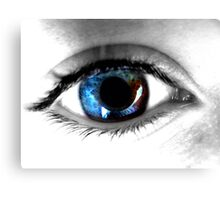 James' Eye Canvas Print