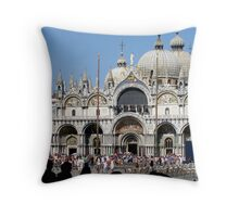 St Marco Square Throw Pillow