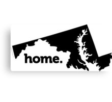 Maryland Home Canvas Print