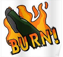 BURN! Counter Strike Poster