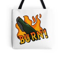 BURN! Counter Strike Tote Bag