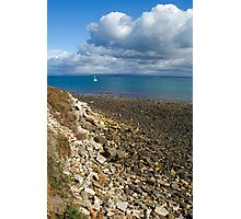 Yachtsman Ahoy Photographic Print
